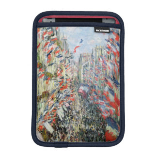 Claude Monet | die Rue Montorgueil, Paris iPad Mini Sleeve