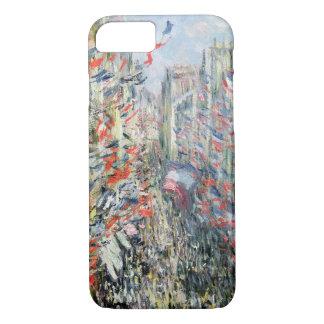 Claude Monet | die Rue Montorgueil, Paris iPhone 8/7 Hülle