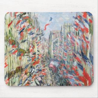 Claude Monet   die Rue Montorgueil, Paris Mauspads