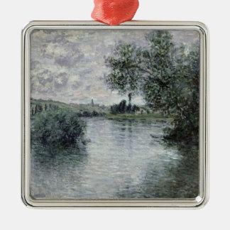 Claude Monet   die Seine bei Vetheuil, 1879 Silbernes Ornament