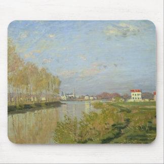 Claude Monet | die Seine in Argenteuil, 1873 Mousepad