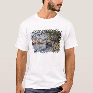Claude Monet | die Seine in Rouen, 1872 T-Shirt