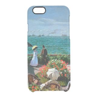 Claude Monet | die Terrasse bei Sainte-Adresse, Durchsichtige iPhone 6/6S Hülle