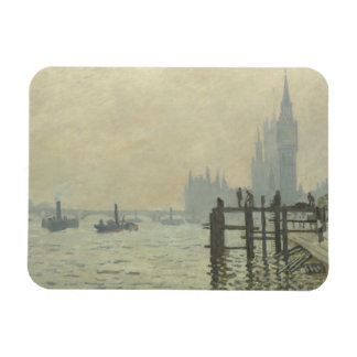 Claude Monet - die Themse in Westminster Magnet