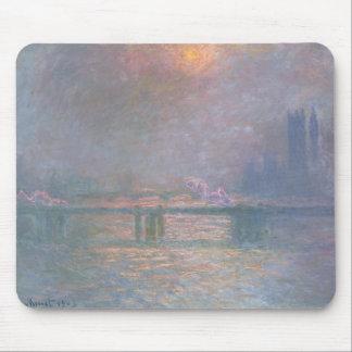 Claude Monet | die Themse mit Charing Kreuz Mauspad
