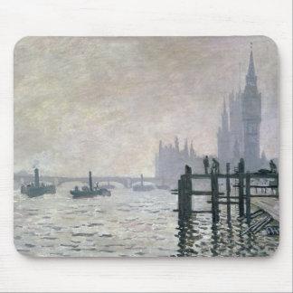 Claude Monet | die Themse unter Westminster Mauspads