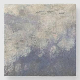 Claude Monet | die Wasserlilien die Wolken 1915-26 Steinuntersetzer