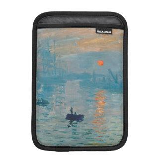 CLAUDE MONET - Eindruck, Sonnenaufgang 1872 iPad Mini Sleeve