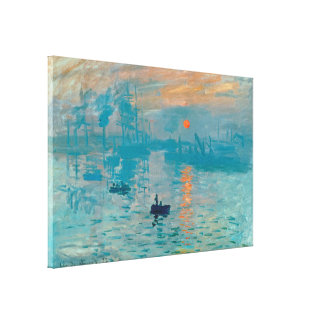 CLAUDE MONET - Eindruck, Sonnenaufgang 1872 Leinwanddruck