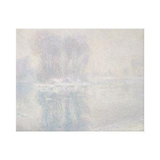Claude Monet - Eisschollen Leinwanddruck