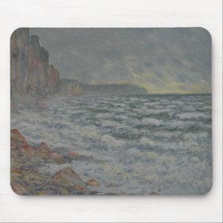 Claude Monet - Fecamp, Küste Mousepad