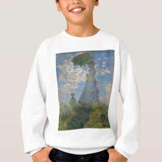 Claude Monet - Frau mit einem Sonnenschirm Sweatshirt
