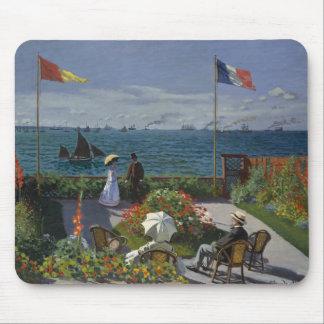 Claude Monet - Garten bei Sainte-Adresse Mauspads