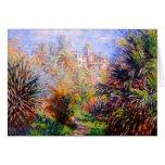 Claude Monet: Gärten des Landhauses Moreno Bordigh Karte