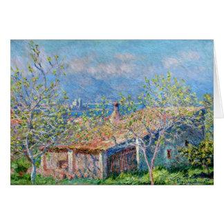 Claude Monet: Gärtner bringen in Antibes unter Karte