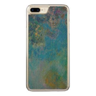 Claude Monet-Glyzinie-schöne Kunst BlumenGalleryHD Carved iPhone 8 Plus/7 Plus Hülle