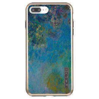 Claude Monet-Glyzinie-schöne Kunst BlumenGalleryHD Incipio DualPro Shine iPhone 8 Plus/7 Plus Hülle
