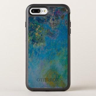 Claude Monet-Glyzinie-schöne Kunst BlumenGalleryHD OtterBox Symmetry iPhone 8 Plus/7 Plus Hülle