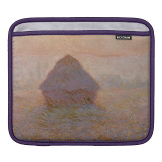 Claude Monet | Grainstack, Sun im Nebel iPad Sleeve