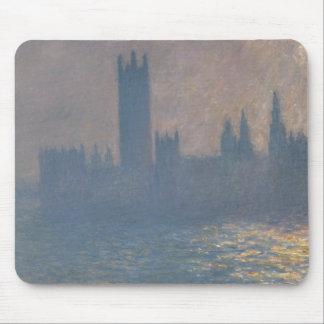 Claude Monet - Häuser des Parlaments, Sonnenlicht Mousepads