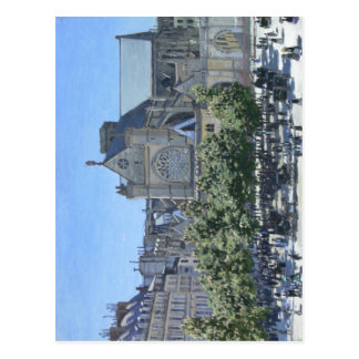 Claude Monet: Heilig-Germain-l'Auxerrois Paris, Postkarte