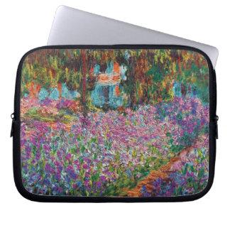 Claude Monet - Iris Monets in der Garten-schönen Laptopschutzhülle