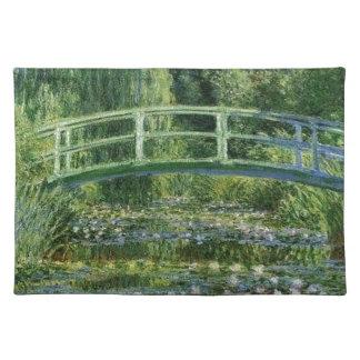 Claude Monet - japanische Brücke Tischset