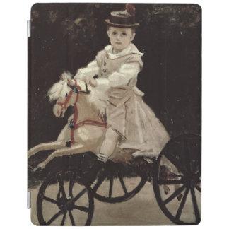 Claude Monet | Jean Monet auf seinem Hobby-Pferd, iPad Hülle