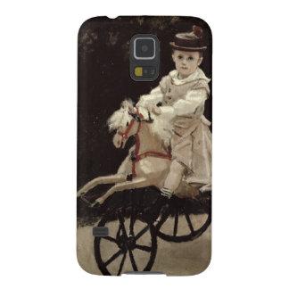 Claude Monet   Jean Monet auf seinem Hobby-Pferd, Samsung Galaxy S5 Hülle