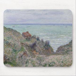 Claude Monet - Kabine der Gewohnheits-Uhr Mousepad
