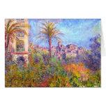 Claude Monet: Landhäuser bei Bordighera Grußkarte