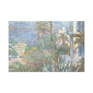 Claude Monet - Landhäuser bei Bordighera Leinwanddruck