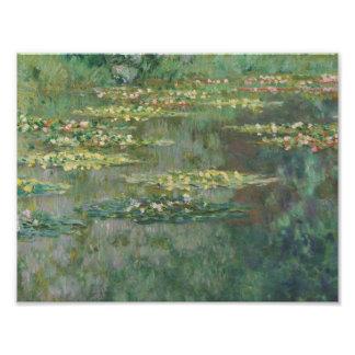 Claude Monet - Le Bassin des Nympheas Fotografischer Druck