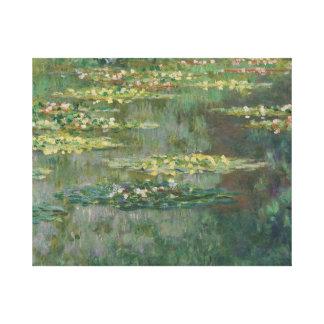 Claude Monet - Le Bassin des Nympheas Leinwanddruck