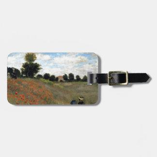 Claude Monet - Les Coquelicots Gepäckanhänger