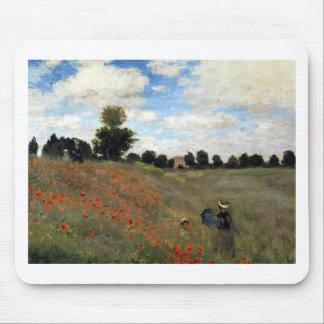 Claude Monet - Les Coquelicots Mousepad