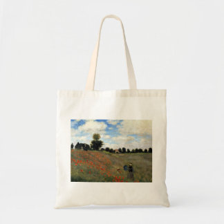 Claude Monet - Les Coquelicots Tragetasche