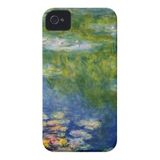 Claude Monet, Lilien-Teich bei Giverny iPhone 4 Case-Mate Hüllen