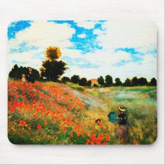 Claude Monet-Mohnblumen in Argenteuil Mauspads
