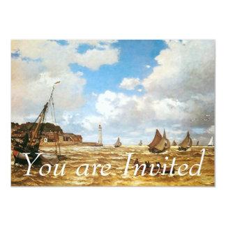 Claude Monet-Mund der Seines Personalisierte Ankündigungskarte