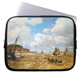 Claude Monet-Mund der Seines Laptopschutzhülle