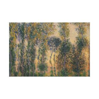 Claude Monet - Pappeln bei Giverny, Sonnenaufgang Leinwanddruck