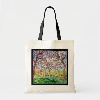 Claude Monet | Printemps ein Giverny Tragetasche