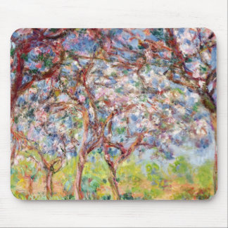 Claude Monet | Printemps Giverny, 1903 Mauspads