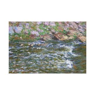 Claude Monet - Rapids auf dem zierlichen Creuse Leinwanddruck