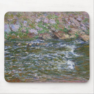 Claude Monet - Rapids auf dem zierlichen Creuse Mauspad