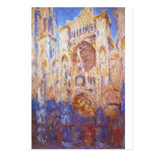 Claude Monet - Rouen-Kathedrale Postkarte