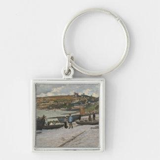 Claude Monet | Sainte-Adresse, 1867 Schlüsselanhänger