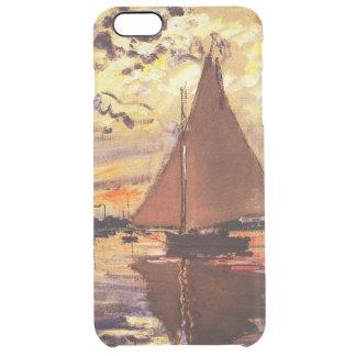 Claude Monet-Segelboot bei Le Klein-Gennevilliers Durchsichtige iPhone 6 Plus Hülle