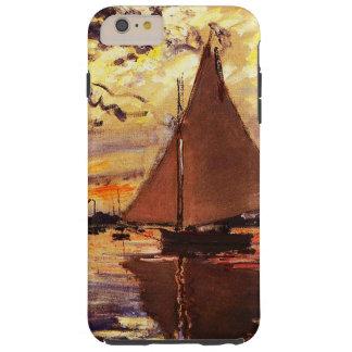 Claude Monet-Segelboot bei Le Klein-Gennevilliers Tough iPhone 6 Plus Hülle
